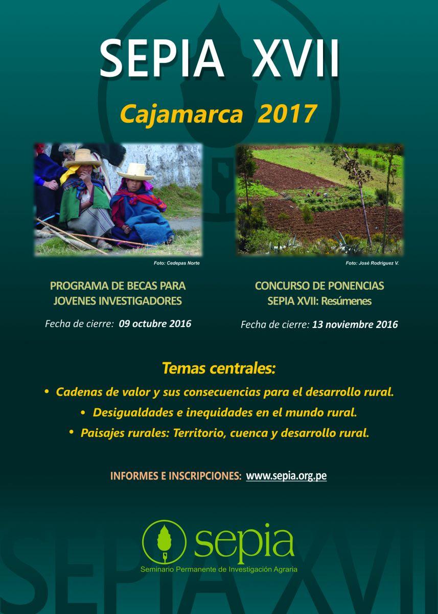 Foto SEPIA XVII – Cajamarca 2017